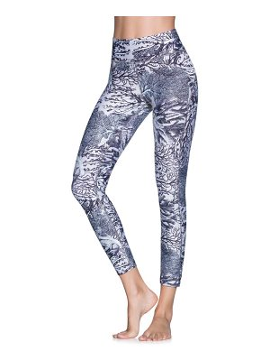 Maaji dazeful coral mid rise leggings