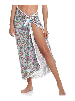 Maaji floral wrap cover-up skirt