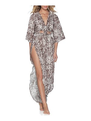 Maaji rise & shine cover-up jumpsuit
