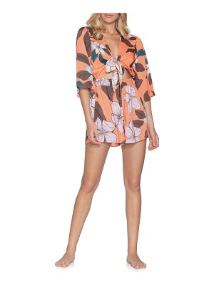 Maaji thousand island cover-up romper