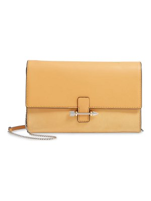 Mackage avah leather clutch