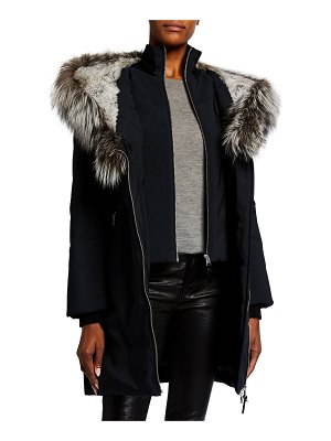 Mackage Down-Fill Oversize Fur-Hood Coat