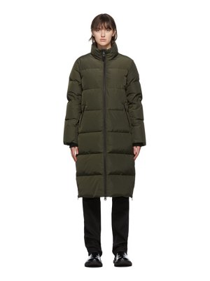 Mackage khaki down devi coat