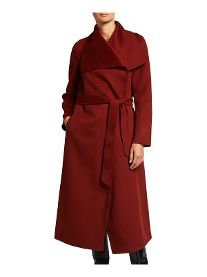 Mackage Mai Long Wool Wrap Coat