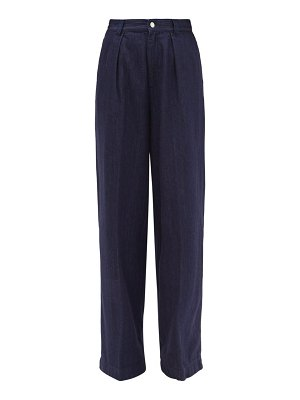 Made In Tomboy enea high-rise wide-leg jeans