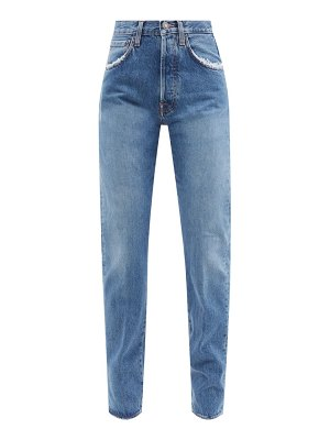 Made In Tomboy victoria distressed straight-leg jeans