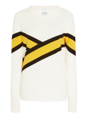 Madeleine Thompson calab colorblock striped cashmere sweater
