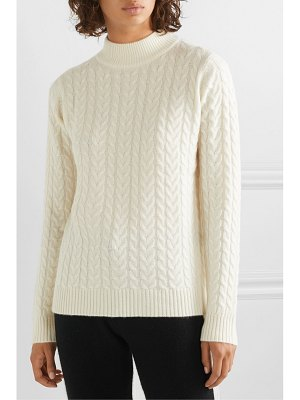 Madeleine Thompson mary cable-knit cashmere sweater