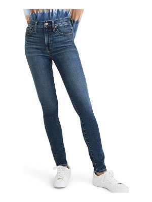 Madewell 10-inch high rise ankle skinny jeans