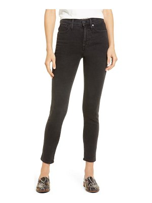 Madewell 10-inch high waist ankle skinny jeans