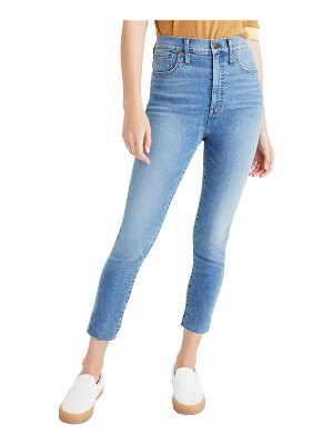 """Madewell 11"""" High-Rise Skinny Crop Jeans"""