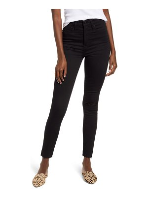 Madewell 11-inch high-rise skinny jeans