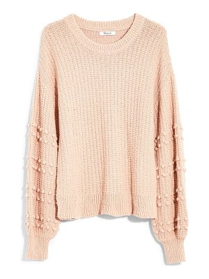 Madewell bobble sweater