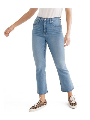 Madewell Cali Demi-Boot Cropped Jeans