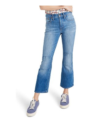 Madewell cali demi knee patch boot jeans