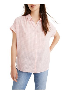 Madewell central gingham check shirt