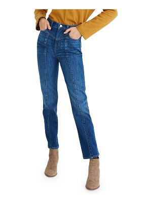 Madewell Classic Straight Jeans w/ Yoke - Inclusive Sizing