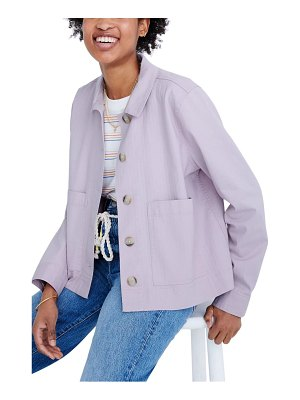 Madewell connor cropped chore jacket
