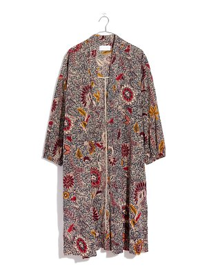 Madewell floral robe jacket