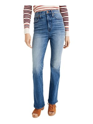 Madewell High-Rise Skinny Flare Jeans