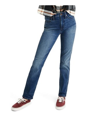 Madewell high waist stovepipe jeans
