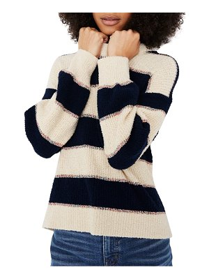 Madewell lakeville stripe pullover
