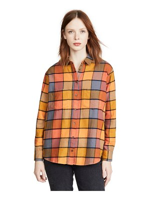 Madewell flannel sunday shirt in emmy plaid