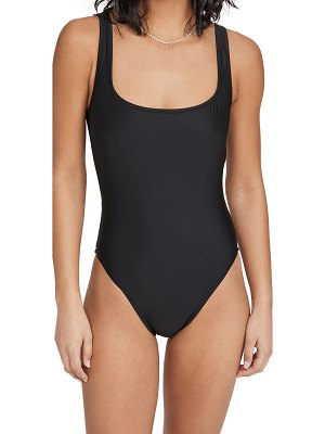 Madewell sage square neck one piece