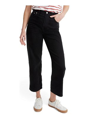 Madewell slim fit wide leg jeans