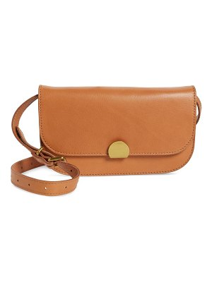 Madewell the abroad leather convertible crossbody bag