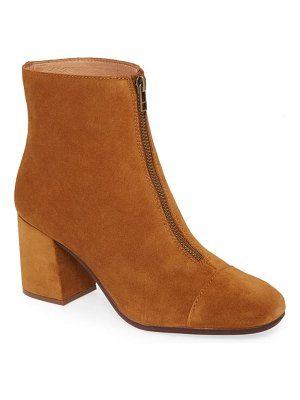 Madewell the amalia zip suede boot