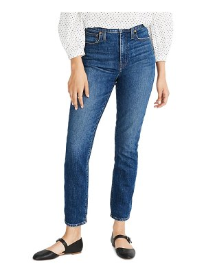 Madewell the high waist slim boy jean