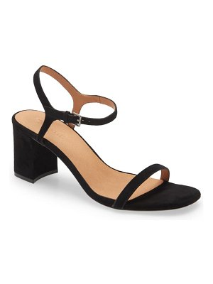 Madewell the hollie ankle strap sandal