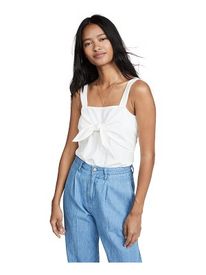 Madewell tie front cami