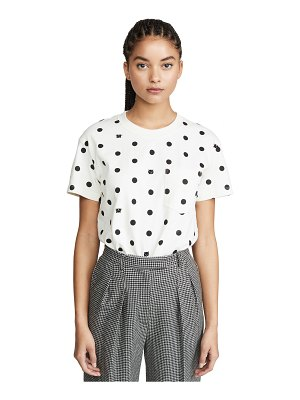 Madewell tilda cat dot tee