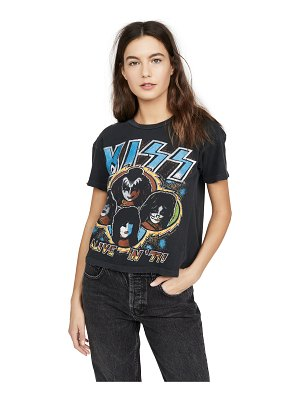 MADEWORN ROCK kiss alive crop tee