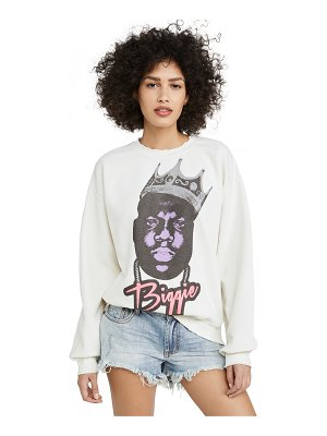 MADEWORN ROCK notorious big sweatshirt