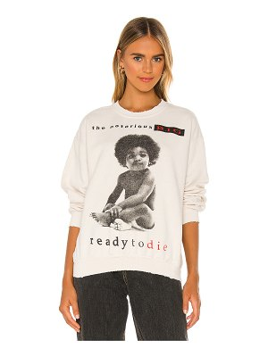 Madeworn x revolve notorious big sweatshirt