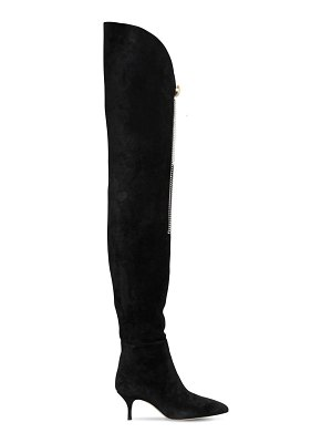 Magda Butrym 65mm over-the-knee portugal suede boots
