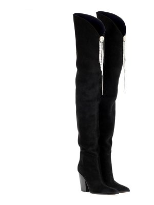 Magda Butrym denmark suede over-the-knee boots