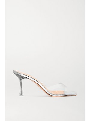 Magda Butrym estonia pvc and mirrored-leather sandals