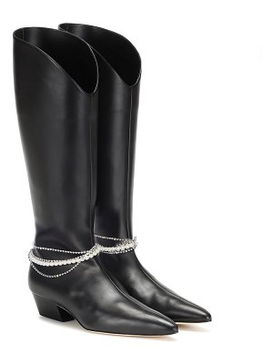 Magda Butrym mexico leather knee-high boots