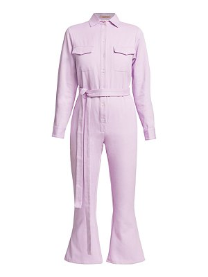 Maggie Marilyn bite the bullet organic cotton kick-flare jumpsuit