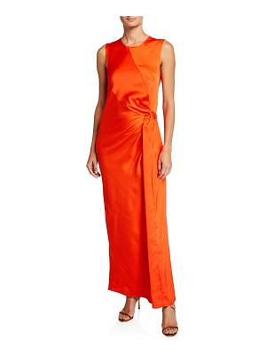 Maggie Marilyn Catch The Sunset Knotted Maxi Dress