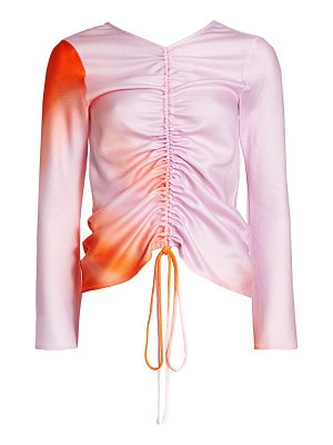 Maggie Marilyn drawn to me ombre top