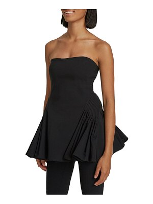 Maggie Marilyn feeling fearless strapless top