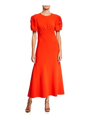 Maggie Marilyn Its Up to You Knotted-Sleeve Dress
