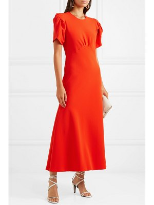 Maggie Marilyn net sustain it's up to you knotted crepe midi dress