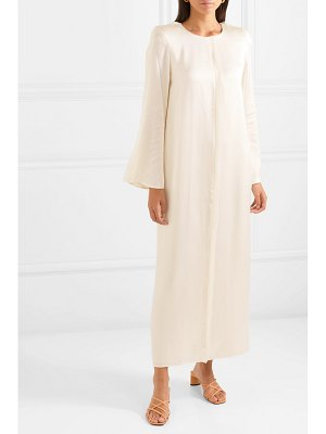 Maggie Marilyn net sustain looks like we made it belted satin maxi dress