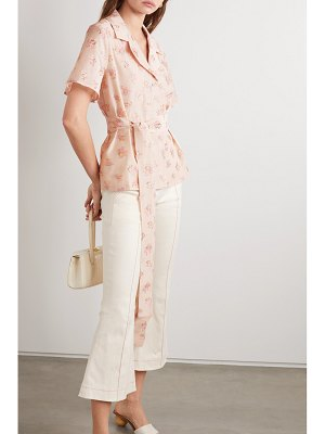 Maggie Marilyn net sustain trust in me embroidered woven top